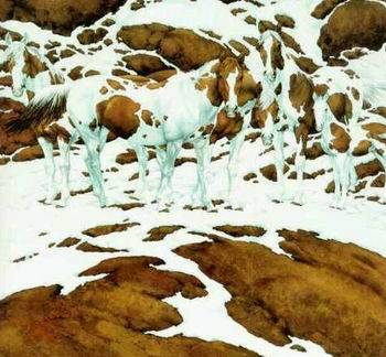 How many horses do you see?